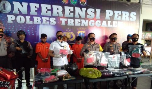 Lima Pelaku Teror Bom Molotov di Trenggalek Mabuk Sebelum Jalankan Aksinya