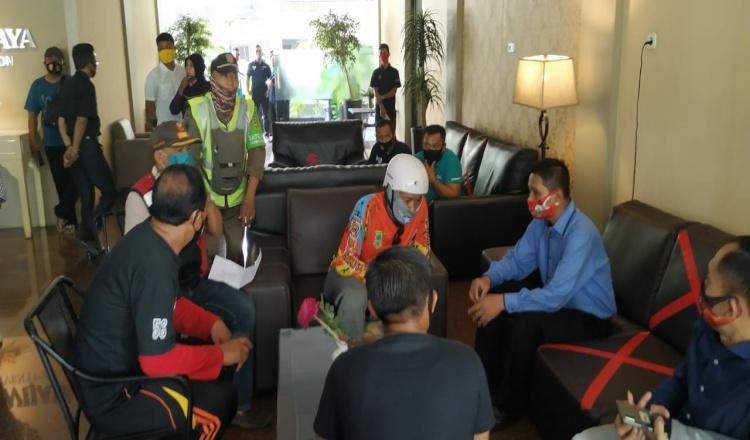 Dinilai Melanggar, Satgas Penanganan Covid-19 Bubarkan Pelatihan di Hotel Raden Wijaya