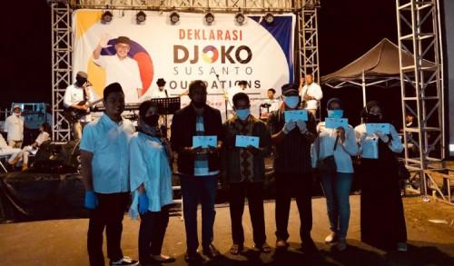 Deklarasi Djoko Susanto Foundation, Sediakan Doorprize Modal Usaha Kecil 50 Juta
