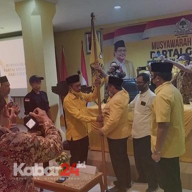 Nahkodai Golkar Jember, Ji Karim Targetkan 6 Kursi DPRD Jember