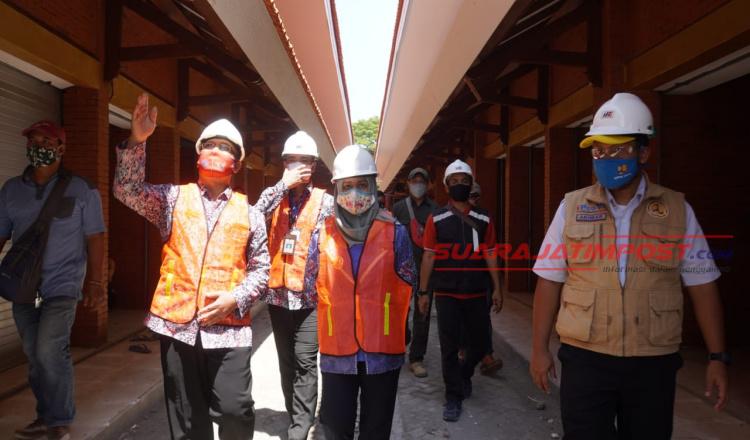 Wali Kota Mojokerto Tinjau Pasar Benpas dan Rest Area Gunung Gedangan
