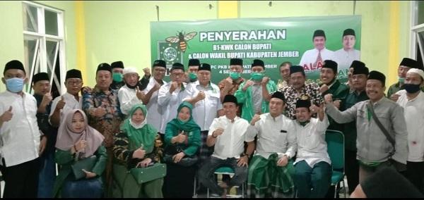 Jelang Pendaftaran, PKB Merapat Usung Salam-Ifan