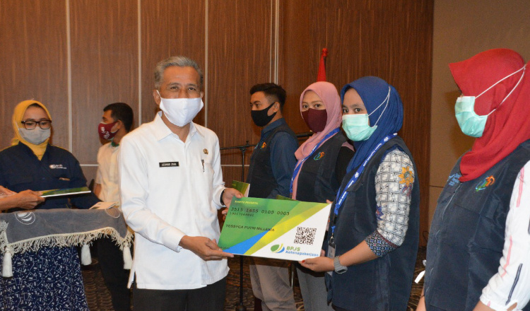 BPJSTK Sidoarjo Berharap Penuh Dukungan Kepada Pemkab Setempat