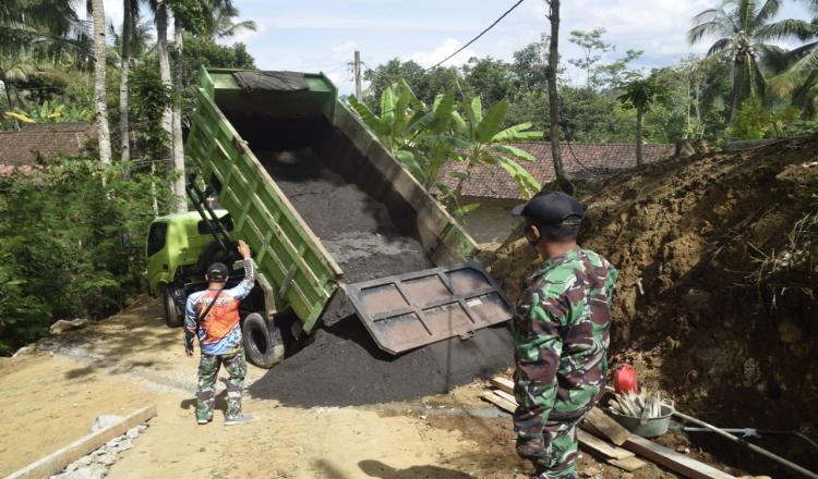 Bahan Material Untuk TMMD Regular 109 Kodim 0708 Purworejo, Dipastikan Aman