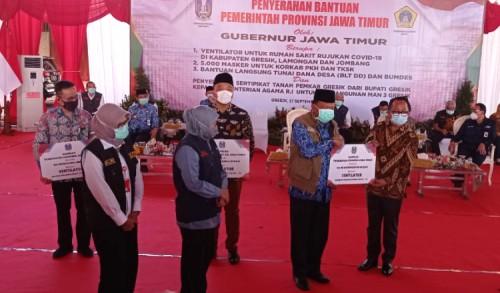 Gubernur Jatim Salurkan Bantuan Ventilator ke 17 Rumah Sakit