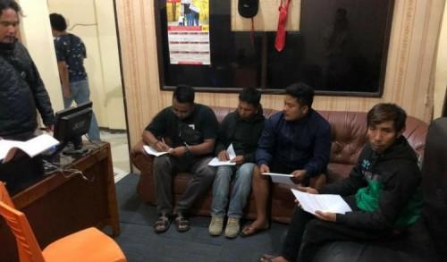 Satreskrim Polres Bukittinggi Disiplinkan Masyarakat Melalui Operasi Yustisi