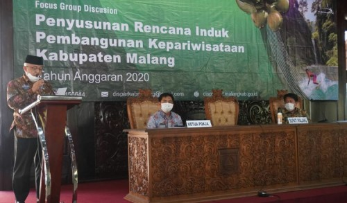 Kembangkan Sektor Pariwisata, Bupati Malang Sanusi Optimis PAD Meningkat