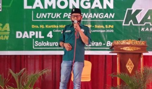 Ketua DPC PKB Lamongan Total Kawal Kemenangan KarSa