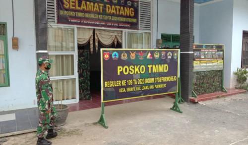 TMMD Reguler Ke-109 TA 2020 Siap Dibuka, Kodim 0708/Purworejo Dirikan Posko Utama