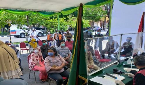 Tertangkap Operasi Yustisi Tak Bawa Masker di Bojonegoro Didenda Rp 75 Ribu