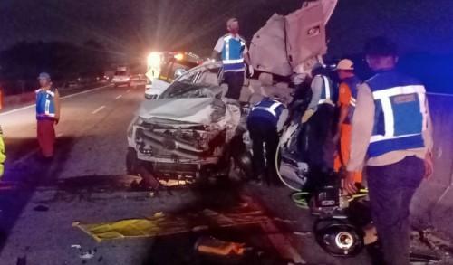 Kecelakaan Maut Tol Sumo, Tiga Nyawa Melayang