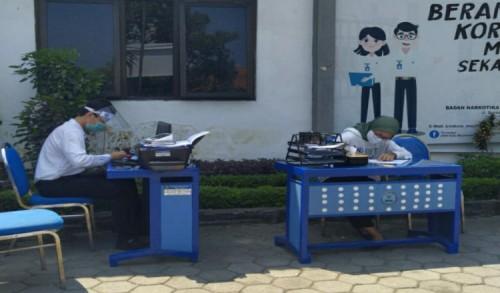 2 Orang Positif Covid-19 di BNN Kota Mojokerto, Puluhan Petugas Jalani Tes Swab