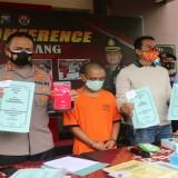 Rugikan Negara Rp 609 Juta, Mantan Kades Slamparejo Jabung Dibui Polisi