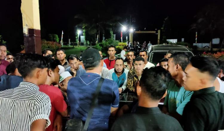 Pelaku Pencurian Sepmor Diamuk Warga di Aceh Utara