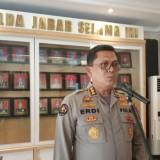 Kesal Miras Disita Polisi, HS Tabrak Pagar Mapolres Dan Teriak
