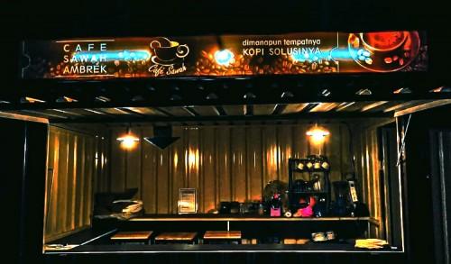Cafe Sawah Ambrek, Destinasi Wisata Baru Kreativitas Warga Desa Pulungdowo Malang