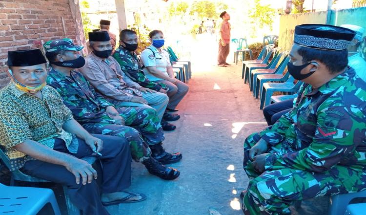 Orang Tua Anggota Satgas TMMD 109 Kodim 0708 Purworejo, Meninggal Dunia