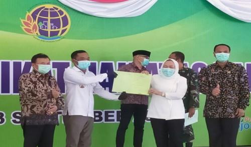 Sebanyak 3.313 Sertifikat Tanah di Bojonegoro Dibagikan