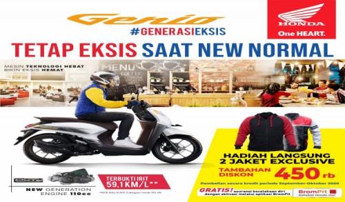 Dapatkan Cashback Hingga Jutaan Rupiah Untuk Pembelian Skutik Andalan Honda