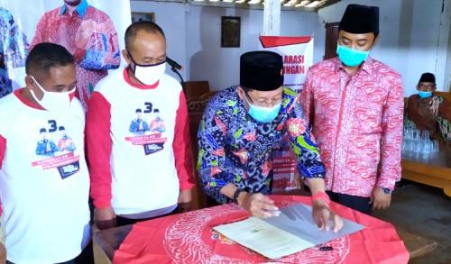 LMDH Tuban Deklarasikan Dukungan Untuk Paslon SetiaNegara