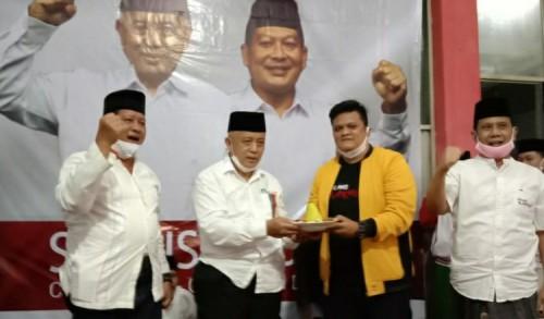 Sanusi – Didik Resmikan Posko Pemenangan di Gondanglegi Malang