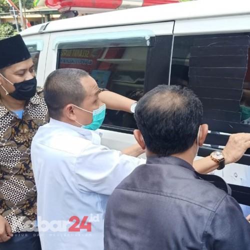Bawaslu dan DPRD Tutup Ambulan Bergambar Faida