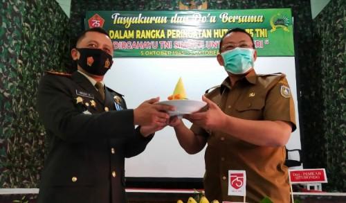 Peringatan HUT TNI ke-75, Kodim 0823 Situbondo Gelar Doa Bersama dan Syukuran