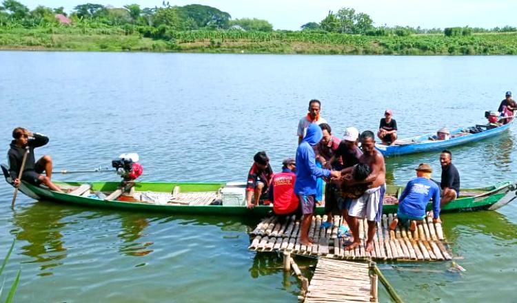 Pergi Cari Ikan, Pria di Tuban Tewas Tenggelam di Bengawan Solo