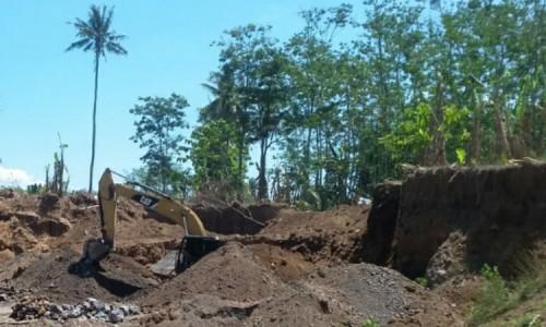 Ada Tambang Pasir di Desa Sumber Pakem, Satpol PP Bondowoso Sebut Tak Berizin