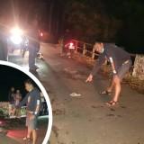 Cerita Polisi Probolinggo Disabet Celurit Hingga Jatuh dari Motor