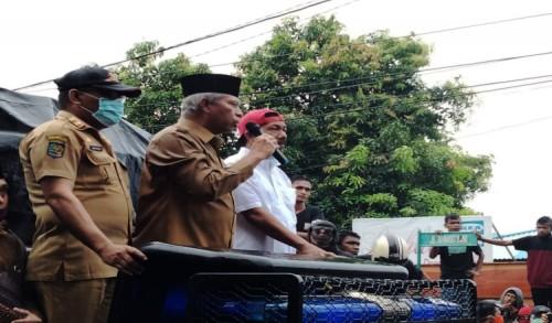 Sepakat. Pemprov dan DPRD Malut serta  Pemkot Ternate Tolak Omnibus Law