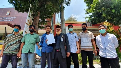 Warga Enam Desa Desak Polisi Bebaskan 2 Warga Yang Ditahan