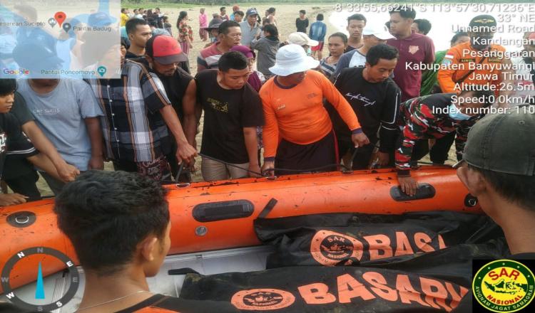Dua Remaja yang Tenggelam di Pantai Badug Banyuwangi, Ditemukan Tak Bernyawa