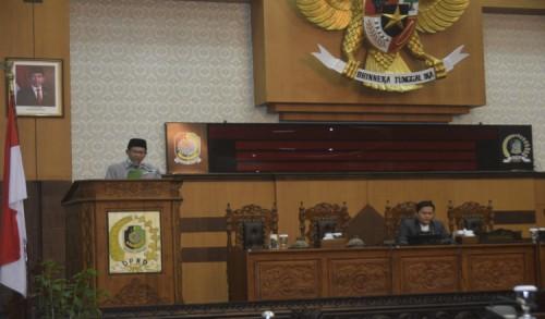 DPRD Banyuwangi Sampaikan Nota Pengantar 3 Raperda Inisiatif Dewan