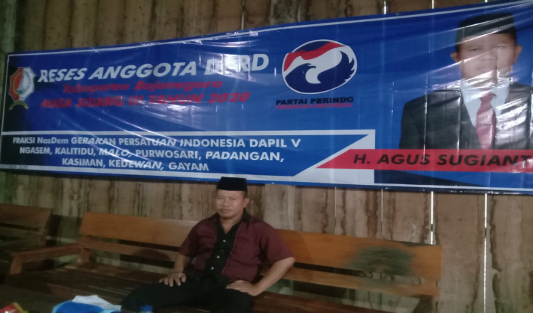 Agus Sugianto Anggota DPRD Bojonegoro Partai Perindo Bakal Tindak Lanjuti Keluhan Pupuk