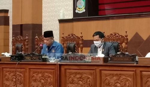 Paripurna DPRD Banyuwangi, Penyampaian Pendapat Bupati Terhadap Tiga Raperda Inisiatif Dewan