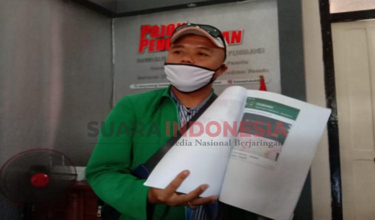 Diduga Kampanyekan Salah Satu Paslon, Seorang ASN di Banyuwangi Dilaporkan ke Bawaslu