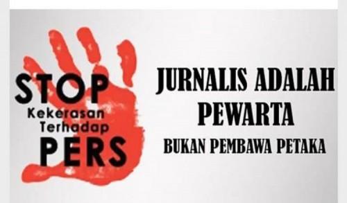 PWI Malut Kecam Oknum Polisi Intimidasi Wartawan Saat Liputan