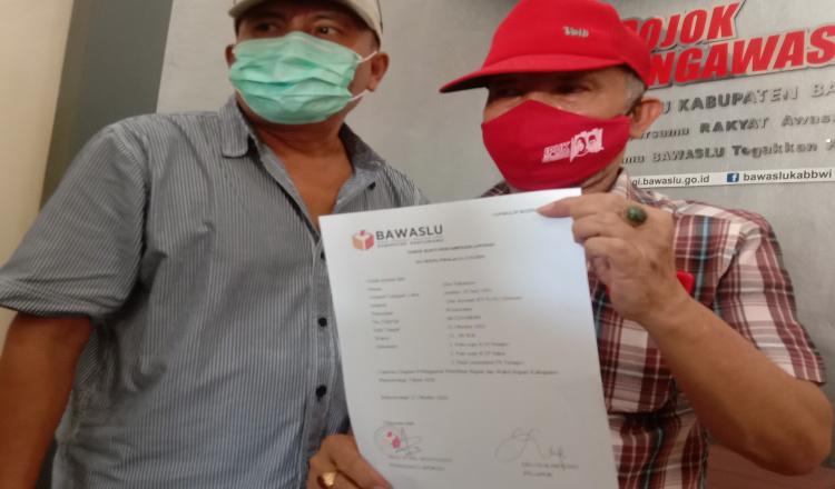 Diduga Dukung Paslon Nomor Urut 1, Seorang ASN Dilaporkan ke Bawaslu Banyuwangi