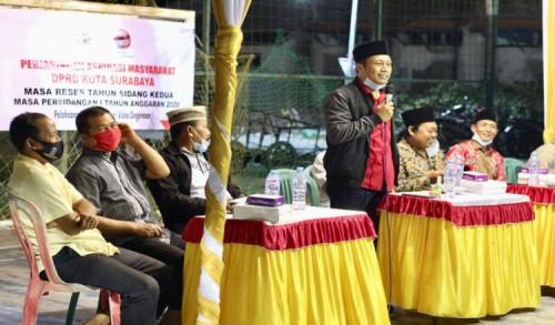 DPRD Fraksi PDIP Fasilitasi Warga Kampung Nelayan Pesisir Surabaya Utara