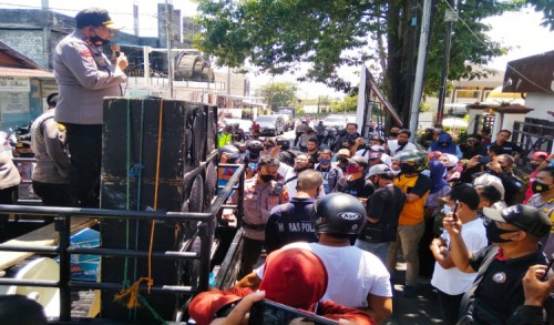 Wartawan di Malut Tuntut Kapolda Tindak Tegas Oknum Polisi Pelaku Kekerasan Pers