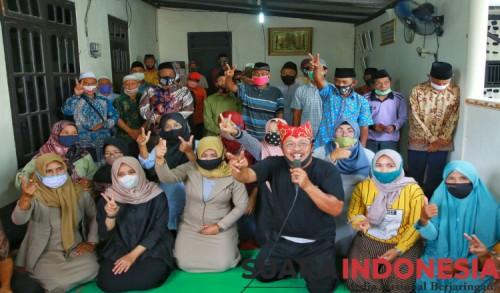 Guru Ngaji di Banyuwangi Deklarasi Dukung Pasangan Ipuk-Sugirah