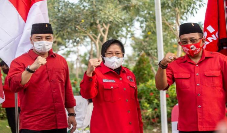 Risma Izin Cuti ke Gubernur untuk Jadi Jurkam Eri - Armuji di Pilwali Surabaya