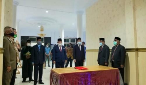 Gubernur AGK Rolling 5 Pejabat di Lingkup Pemprov Malut