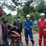 Diduga Cemari Sungai, Warga Blokir Akses Jalan Ke-PT. Medco E&P Malaka