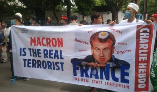 Organisasi Islam di Surabaya Desak Mahkamah Uni Eropa Berikan Sanksi ke Macron