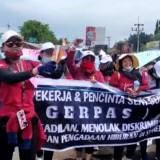 Tuntut Keadilan, Ribuan Pekerja Seni di Sumenep Gelar Aksi Minta Izin Panggung Hiburan Dibuka