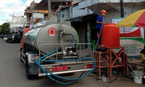 BPBD Bondowoso Sediakan 50 Tempat Cuci Tangan, Fasilitas Protokol Kesehatan