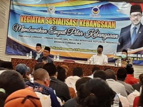 Aminurokhman Mengajak Masyarakat Untuk Terapkan 4 Pilar Kebangsaan di Pilkada Kota Pasuruan