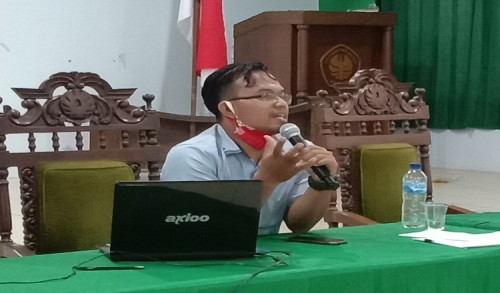 Ngisi Materi Pelatihan di Suaraindonesia.co.id, Cak Huda Beri Tips jadi Jurnalis Profesional